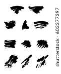 grunge banner. abstract vector...   Shutterstock .eps vector #602377397
