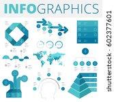 infographics design elements... | Shutterstock .eps vector #602377601