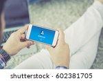 workflow concept | Shutterstock . vector #602381705