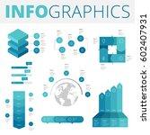 infographics design elements... | Shutterstock .eps vector #602407931