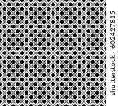 vector monochrome repeat... | Shutterstock .eps vector #602427815