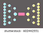 a blank college basketball... | Shutterstock .eps vector #602442551