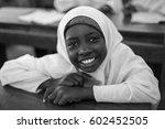 editorial use  girl at school... | Shutterstock . vector #602452505