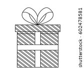 gift box icon | Shutterstock .eps vector #602478581