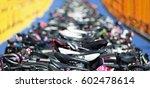 triathlon the transition zone... | Shutterstock . vector #602478614
