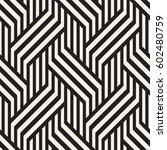vector seamless pattern. modern ... | Shutterstock .eps vector #602480759