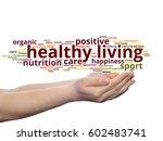 concept conceptual healthy... | Shutterstock . vector #602483741