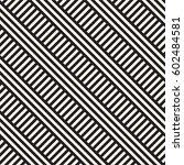 interlacing parallel stripes.... | Shutterstock .eps vector #602484581
