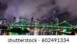 the story bridge over the... | Shutterstock . vector #602491334
