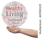 concept or conceptual healthy... | Shutterstock . vector #602504135