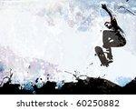 A Grungy Skateboarding Layout...