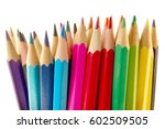 color pencils | Shutterstock . vector #602509505