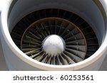 jet engine closeup | Shutterstock . vector #60253561