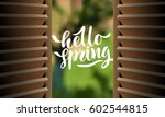 vector illustration. semi open... | Shutterstock .eps vector #602544815