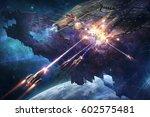 digital illustration of... | Shutterstock . vector #602575481