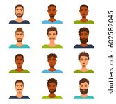 flat icons collection of... | Shutterstock .eps vector #602582045