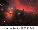 Horse Nebula B33 And Flame...