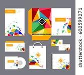 creative vector abstract for... | Shutterstock .eps vector #602599271
