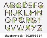 Spring Alphabet Letters...
