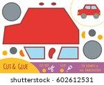 education paper game for... | Shutterstock .eps vector #602612531