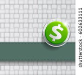 the cover of the dollar design | Shutterstock .eps vector #602633111