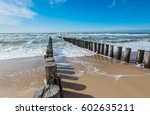 Breakwater Of Two Rows Of...