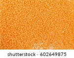 flame orange glass beads... | Shutterstock . vector #602649875