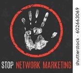 vector illustration. social... | Shutterstock .eps vector #602663069