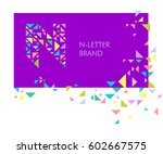 creative logo for the corporate ... | Shutterstock .eps vector #602667575
