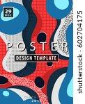 artistic funky design for... | Shutterstock .eps vector #602704175