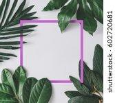 creative minimal arrangement of ... | Shutterstock . vector #602720681