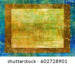 green colorful background | Shutterstock . vector #602728901