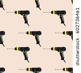 screwdrivers. pattern. the... | Shutterstock .eps vector #602736461