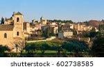 village of lourmarin. listed as ...   Shutterstock . vector #602738585