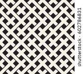 weave seamless pattern. stylish ... | Shutterstock .eps vector #602786831