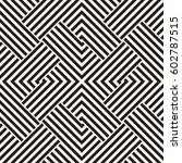 repeating geometric stripes...   Shutterstock .eps vector #602787515