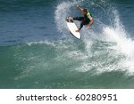 good surfer in action on a... | Shutterstock . vector #60280951
