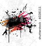 town splash | Shutterstock .eps vector #6028111