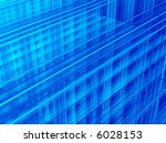 abstract blue background   Shutterstock . vector #6028153