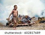 baliem valley  west papua ... | Shutterstock . vector #602817689