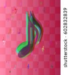 music idea vector   Shutterstock .eps vector #602832839