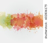 watercolor backgrounds for... | Shutterstock .eps vector #602836175