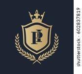 pi logo | Shutterstock .eps vector #602837819