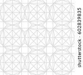 art deco seamless background. | Shutterstock .eps vector #602839835