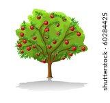apple tree | Shutterstock .eps vector #60284425