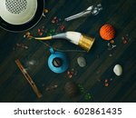 asian eastern traditional... | Shutterstock . vector #602861435