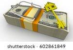 trap estate. risk on mortgage...   Shutterstock . vector #602861849