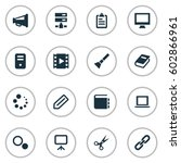 vector illustration set of...