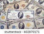 Vintage U.s. Paper Money