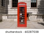 A Classic Red British Telephon...